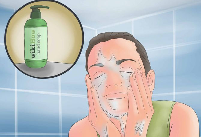 How to get pepper spray out of eyes