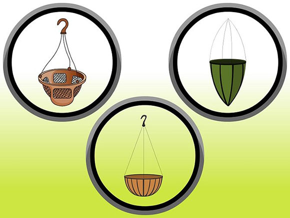 How to Prepare a Hanging Basket