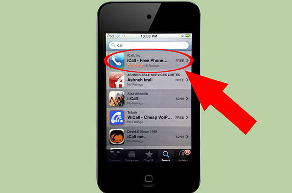 How to call people on your iPod Touch with iCall