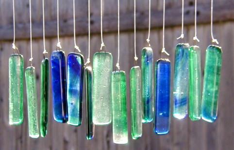 How to make yourself Glass Garden Art