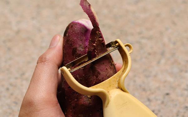 How to make Sweet Potato and Yam Crisps