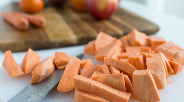 How to get Juice from a Sweet Potato