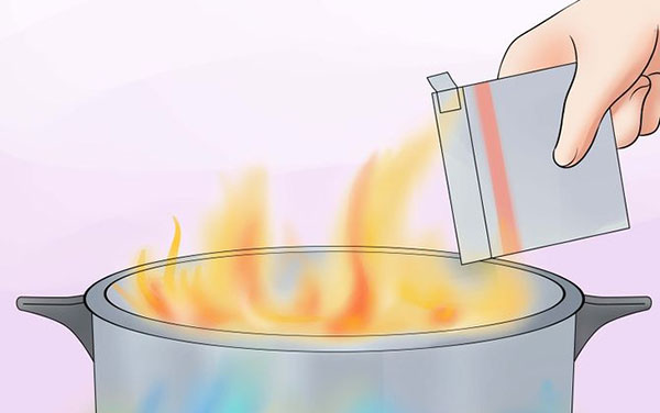 How to Put Out an Oil Fire