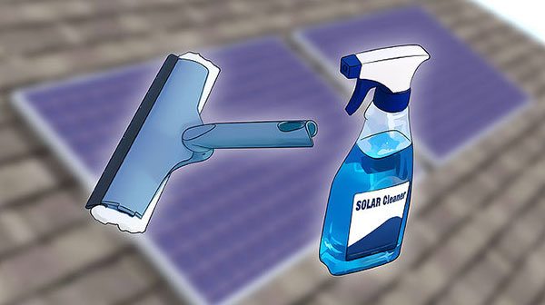 How to maintain a solar panel