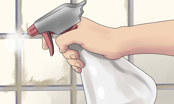 How to remove bathroom mould using vinegar