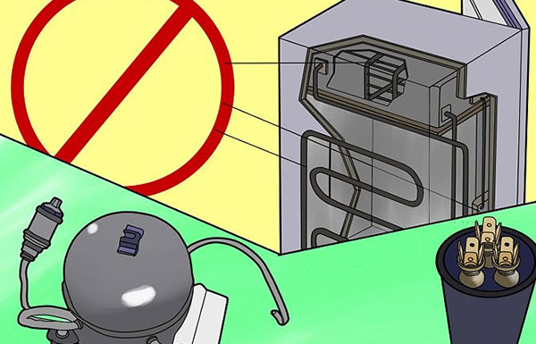 How to make an air compressor out of an old refrigerator