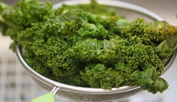 How to freeze kale