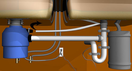 How To Install The Wiring For A Waste Disposal Unit Letsfixit