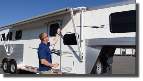 How to operate a mobile home awning - LetsFixIt