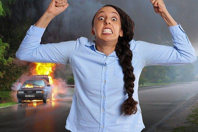 car accident road rage