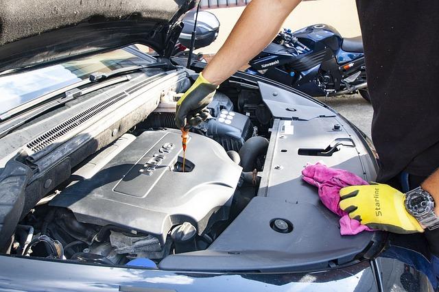 maintain vehicle oil