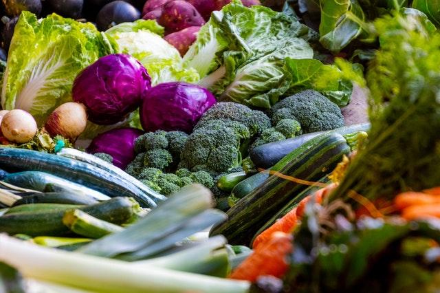 market garden vegetables