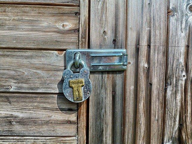 security padlock garden shed