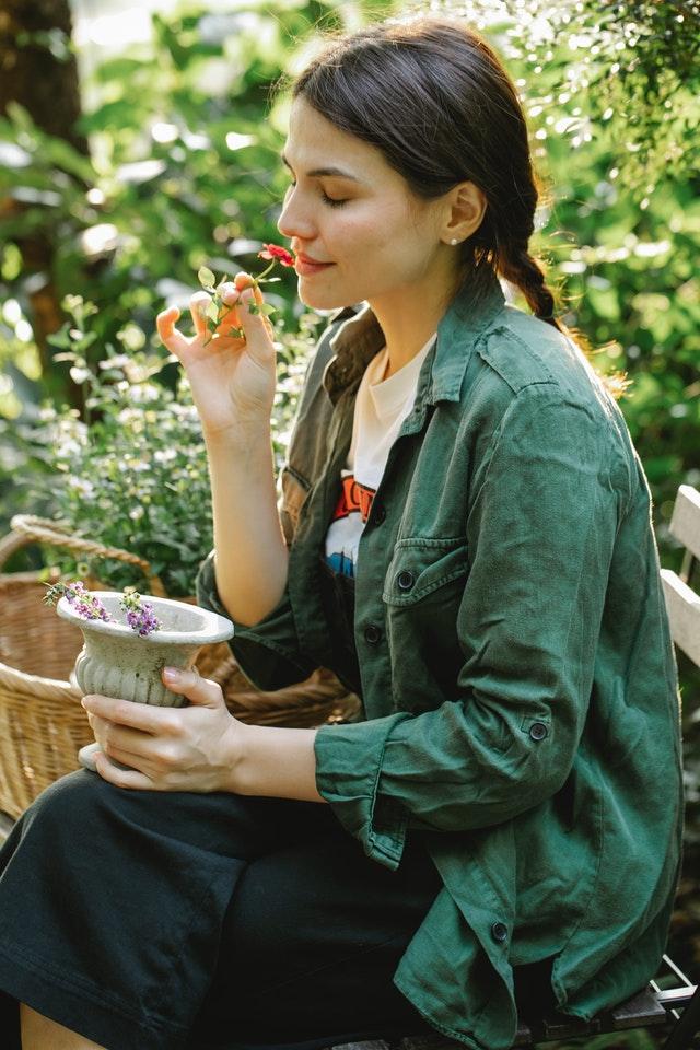 Garden DIY de-stresser