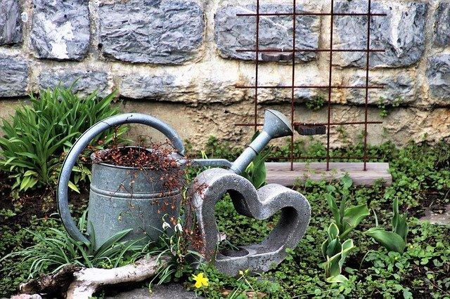 garden declutter
