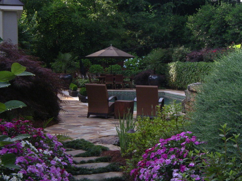 garden paved area